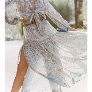 Spell Gypsy Oasis Maxi Skirt